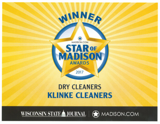 We Won 2017's Star of Madison Award