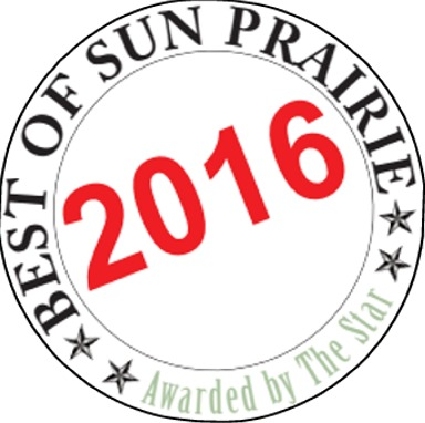 "We're Sun Prairie's ""Best"" – 13 Years in A Row!"