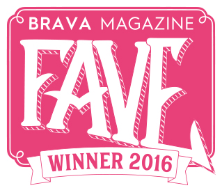 "We are Brava Magazine's ""Fave Dry Cleaner"" for 2016!"