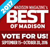 "Vote for ""Klinke Cleaners"" for Best of Madison – Dry Cleaner"