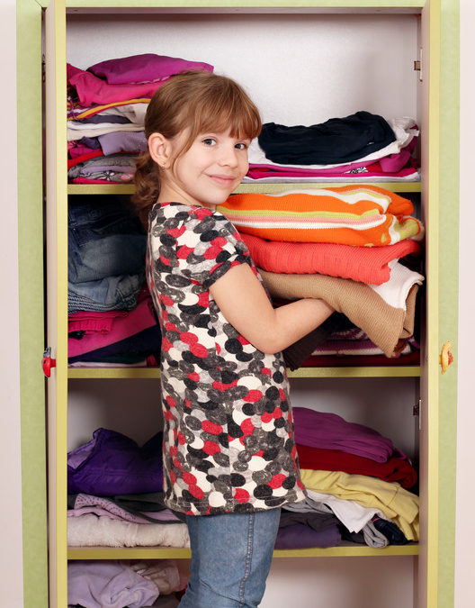 Getting Little Closets Ready for Back-to-School