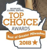 "Please vote us ""Top Choice"" for Milwaukee! Please vote before July 14!"