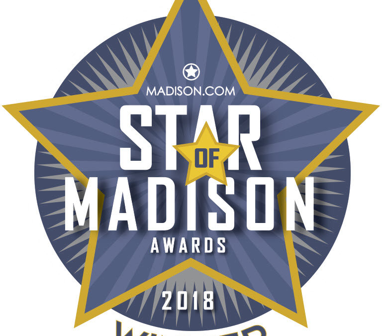 "9 Years Running – We've Won the ""Star of Madison"" Award"