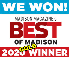 "37 Years of Gold – We won the top spot in the ""Best of Madison"" 2020 poll!"