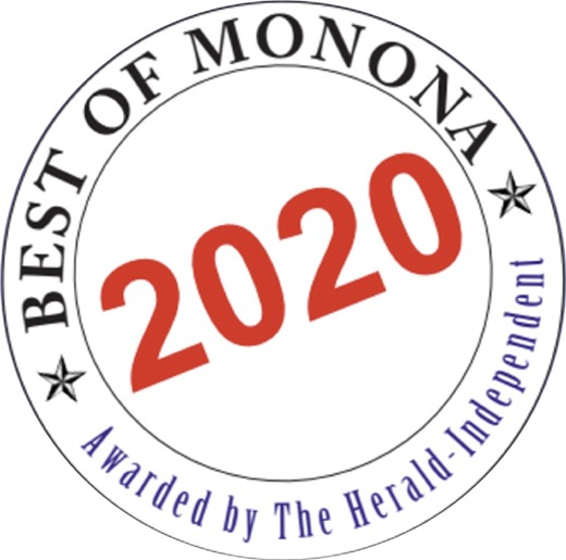 """Please vote for Klinke Cleaners as """"Best of Monona"""" for 2020!"""
