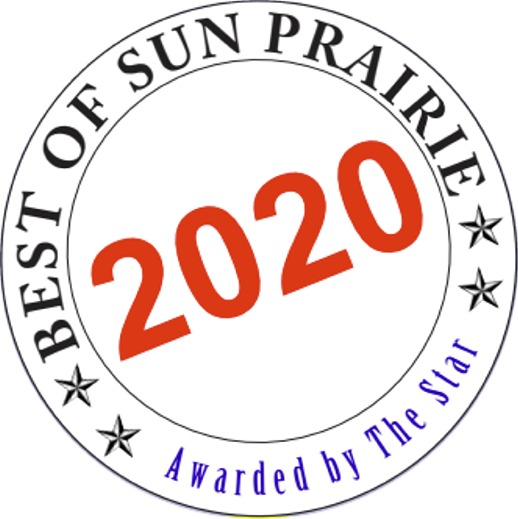 17 Consecutive Years…Best of Sun Prairie!