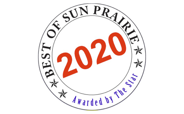 17 Consecutive Years…Best of Sun Prairie!