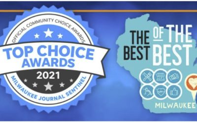 """Only 1 week to go – please nominate us for Milwaukee's """"Top Choice"""" award"""