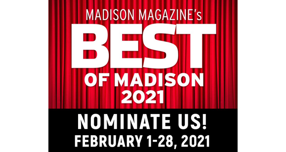 """Please nominate """"Klinke Cleaners"""" as Madison Magazine's """"Best of Madison"""" for 2021!"""