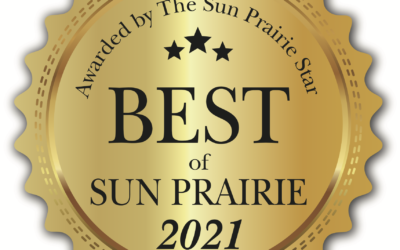 We won Best of Sun Prairie for 2021!