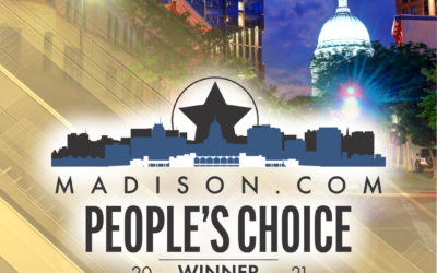 We won the Madison.com People's Choice Award for 2021